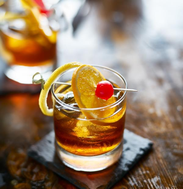 Mocktails - Jake's Fake Old Fashioned Jake's Fake Old Fashioned will be your friend if a) You can afford a laugh or two at your expense and/or b) You have a love/hate relationship with the Mad Men's protagonist