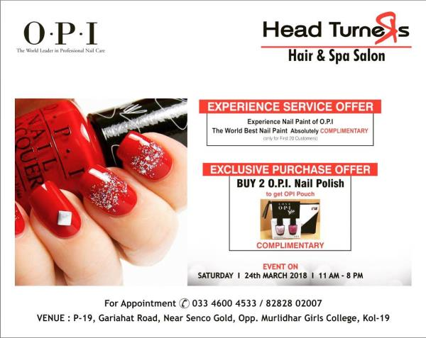 24th March - OPI Day!  Buy 2 &