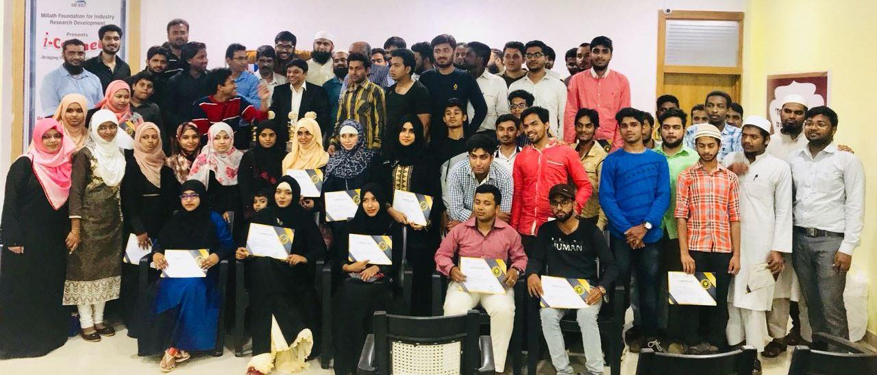 Alhumdulillah we had our Course Completion Certificate  Distribution Ceremony of the Pilot Batch of 3 month #FREE #DIGITAL #MARKETING & #ANDROID #DEVELOPMENT #TRAINING Sponsored by #IMA COUNCIL & Conducted by #NEXUSINFO.  We would like to Thank IMA Council and Mr Mohammed Mansoor Khan Saheb for this Noble Initiative and Giving this Wonderful Opportunity to Youths to take up the advance Technical Skills Empowering them to Entrepreneurship and better Career Prospects. On Behalf of All the Participants and Nexusinfo We would like to once Again thank Mohammed Mansoor Khan Saheb and entire IMA Team for their Tremendous support.  We All pray with the Almighty to Give More Success & bring Laurels to IMA in its Business and Philanthropic Activities, benefiting the Society at large. Which they have been doing in all Areas of Education, Charity, Medical Care etc. Aameen Summa Aameen.