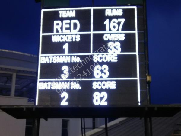LED cricket scoreboards  LED cricket scoreboards manufacturer New Delhi India  LED scoreboards for all sports www.technocratz.in