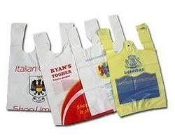 Owing to our rich experience and vast knowledge of this domain, we have been able to offer premium quality T- Shirt Bags to our valuable customers. These T- Shirt Bags products are commonly used as a carry bag at various shops. To ensure a defect-free range, these T- Shirt Bags are checked rigorously on various quality assurance procedures by our team of quality controllers.