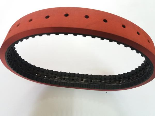 Coated belts with Holes as per customer requirements