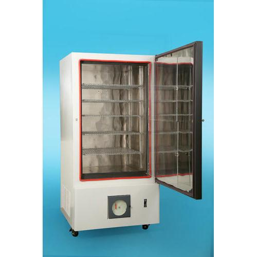 Plasma Freezer  Meditek Speciality is manufacturer & wholesaler of Plasma Freezer in Mumbai .  Product Details: Temperature-40 degree Celsius Capacity ( in Ltr)90, 170, 290, 350 Litre Defrost Type- Manual Defrost Power source - Electric Body Material- Stainless Steel Keeping the diverse requirements of customers in mind, we are instrumental in providing Plasma Freezer.