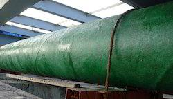 FRP lining work  To protect M.S pipe from corrosion
