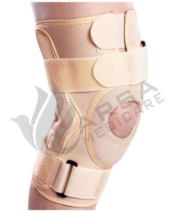 Knee Support with open Patella from Arsa Medicare , it's very very helpful relief from knee pain and support the knee , more information pls visit www.arsamedicare.com .