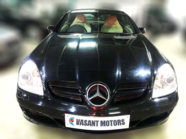 MERCEDES BENZ SLK (BLACK COLOR, PETROL), 2004 model done only 36, 000km in absolute mint condition. For further info call 7569696666