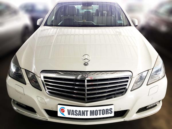 MERCEDES BENZ W 212 E250 CDI (CALCITE WHITE, DIESEL), 2010 model done only 91, 000km in absolute mint condition. For further info call 7569696666