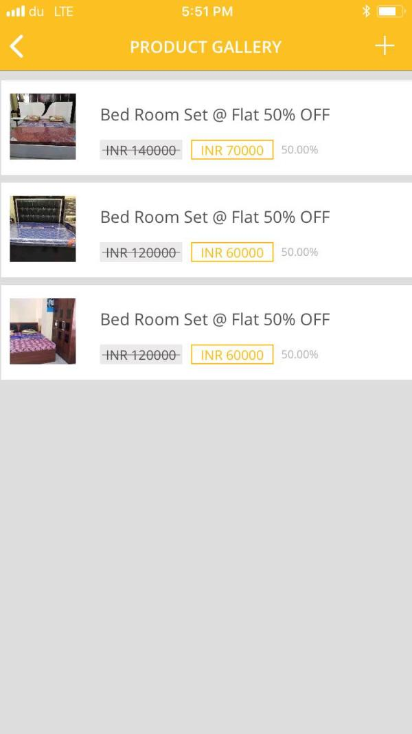 Imported Bed Room set @ F