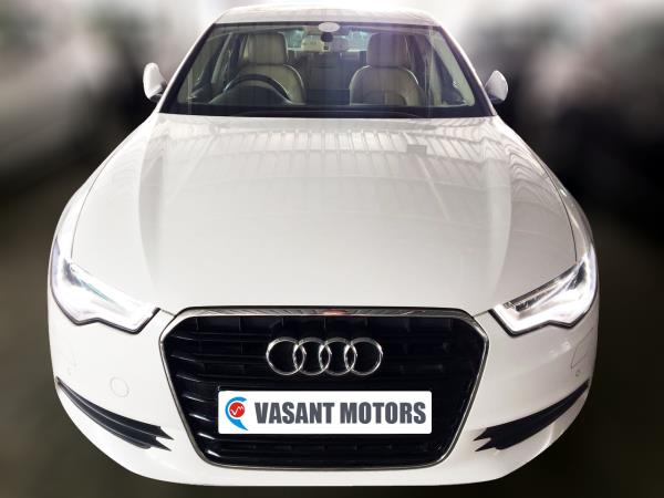 AUDI A6 2.0 TDI (WHITE COLOR, DIESEL), 2012 model done only 47, 000km in absolute mint condition. For further info call 7569696666