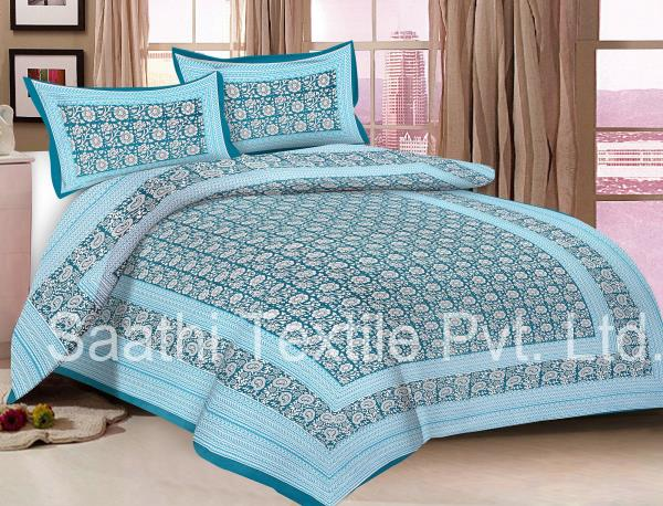 We Are The Cotton Bed Sheet Manufacturer  Single, Double, Queen And King  Size