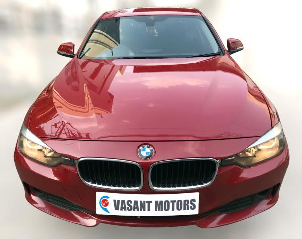 BMW 320D BSIV (MELBOURN RED METALLIC COLOR, DIESEL), 2013 model done only 56, 000km in absolute mint condition. For further info call 7569696666
