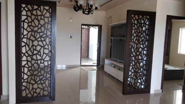 Sai interior has given the unique design for partition