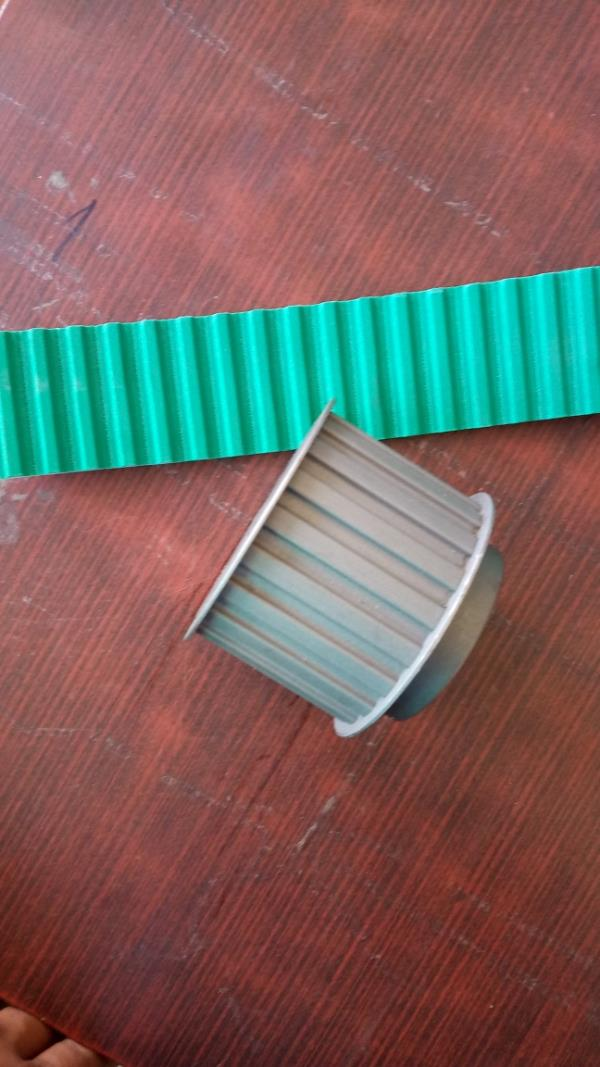 PU timing belt with suita