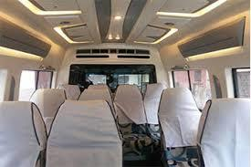 Tempo Traveller Hire - Tempo Traveller Rental Services Bangalore.  SM Tours and Travels (R). have a fleet of luxury tempo Traveller rentals and luxury tempo traveller hire in Bangalore With the choices of A/C and Non A/C.  We have prominent fleet of tempo Traveller with different seating configuration such as 12, 13, 14, 15 +1 seaters. These are based on the number of people per travel for a particular trip.