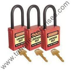 We are stockists of Red Color Plastic Electrical Panel Lockout.We also have lockout tagout products, lockoutequipments, scaffolding tags with holders etc