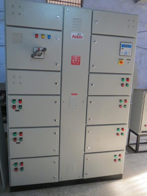 Automatic Power Factor Control (APFC) Panel Manufacturer and supplier. Automatic Power Factor Control (APFC) Panel are used to improve power factor, reduce harmonics, increase the life of device, and also it saves power by reactive power compensation method.