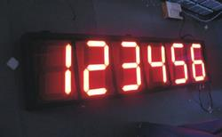 Jumbo Display These are large size Jumbo Display specifically for distant visibility. Useful for indoor as well as outdoor applications for parameter indication, clock indication, temperature and humidity indication etc