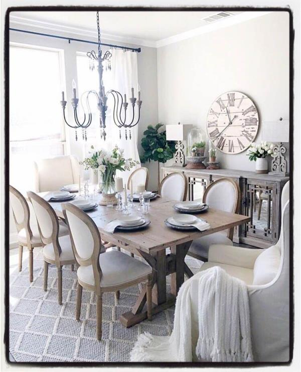This week's Saturday Style Inspiration is this simple yet elegant dining room. For further inspiration or for accessories to help create this look, please visit the House of Treasures Emporium showroom in Karen. Discover hidden treasures... #hiddentreasures #houseoftreasures #saturdaystyleinspiration #styleinspiration #styleyourhome #homedecor #homeaccessories #loveyourhome #diningset #clocks #chandeliers #throws #sideboard #furniture #homesweethome #nairobi #karennairobi #whyilovekenya #simpleyetelegant