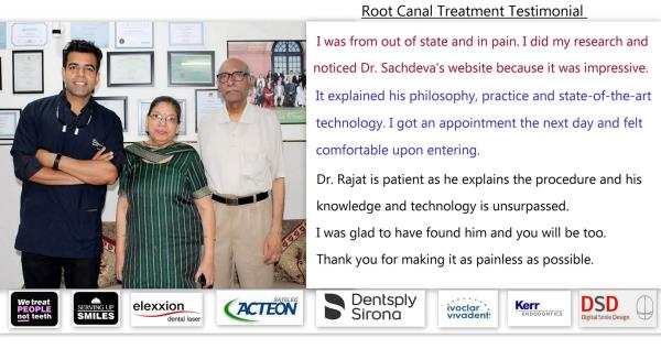 Some #teeth have a lot of nerve to bother you.. to know more about root canals Contact Dr.Rajat +919818894041.  To provide world class Endodontic dentistry services  And provide an atmosphere of special patient care while utilizing advanced technology. We employ a proactive staff that embodies good humor, style and overwhelming attention to each of our patients needs. We ensure a positive caring environment while maintaining exceptional professionalism in Endodontics. In doing so, we assist our patient's to a higher level of oral health and overall well being through quality, care and comfort.
