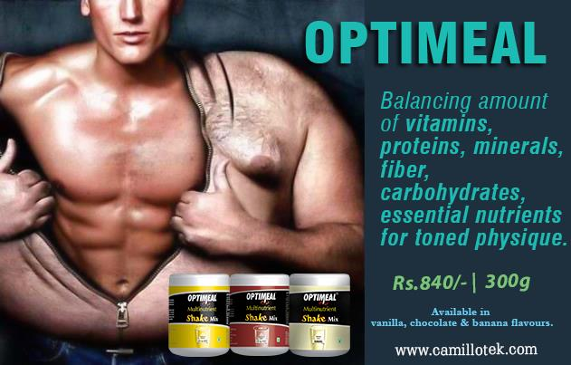 Optimeal provides balancing amount of vitamins, proteins, minerals, fiber, carbohydrates, and other essential nutrients for toned physique. NutriShake for slimming online, Optimeal for bodybuilders, Optimeal protein shakes, hunger blocker meal replacer, optimeal for toned pysique, healthymeal substitute and perfect way to weight loss.  Meal replacement shakes manufacturers, Meal replacement shakes suppliers, Meal replacement shakes exporters, wholesalers, traders in Chennai, India.