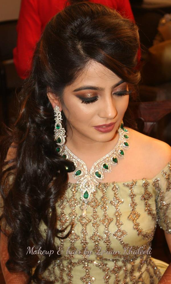 Bridal Makeup Service Top rated beauty professionals create the perfect look for your wedding wherever you are. Just book your bridal makeup appointment with Zorains Studio, Kormangala, Bangalore and we will create a look you want.  .