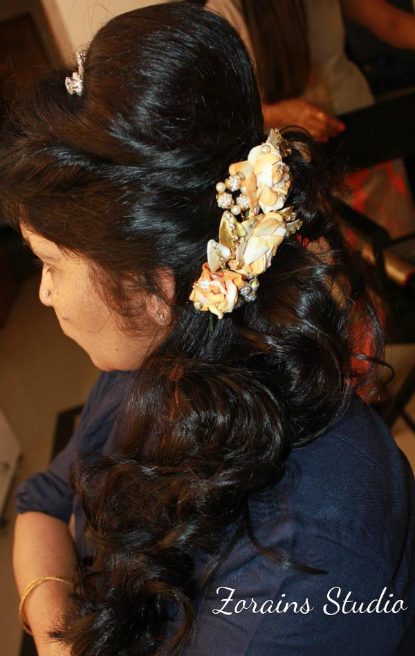 Professional Bridal Hair styling service We at Zorains Studio can create the most current, classic and ultra trendy hairstyles for clients. We offer our clients high quality elite services and style your hair like a professional.