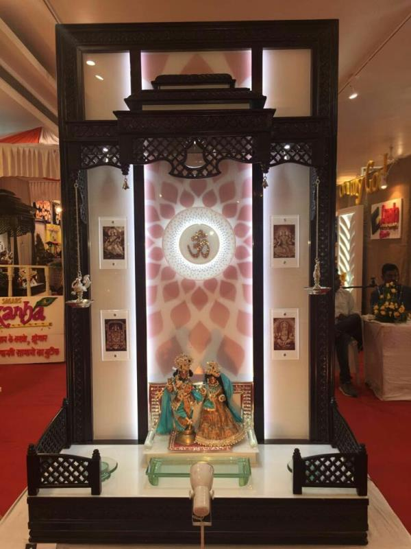 We are a creater of wooden glass decorative mandir without own designs, as per Vastu as per client requirement with high finishing in mandir, material also used by creata is best quality product we respect our clients and their emotions we give then value for money. And we are very happy that we have 100% satisfied client with us.