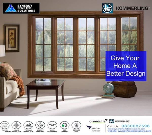 Give your Home a Better Design with Best Quality uPVC Doors & Windows from Synergy Fenster Solutions. For More Details  Call now at +91 - 9830087596 or visit www.synergyfenstersolutions.com #Slidingdoors #soundproof #dustproof #easytomaintain #beautiful #classy  #Synergyfenstersolutions #kommerling