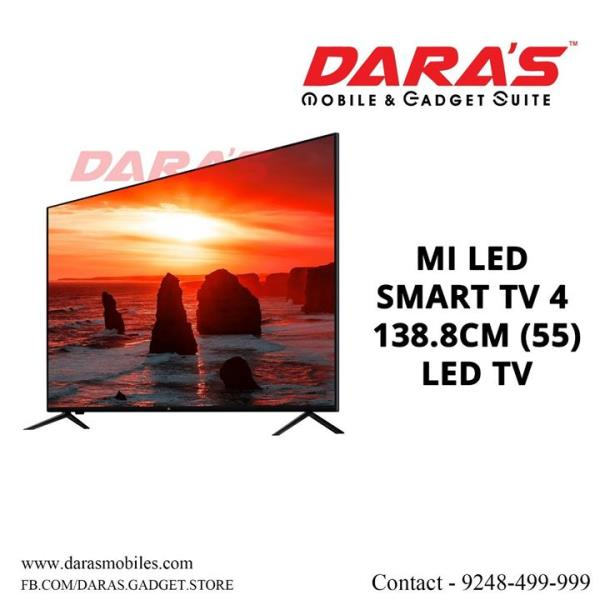 #Mi Smart Tv4 138.8Cm (55) #Led_Tv for more information contact us DARAS