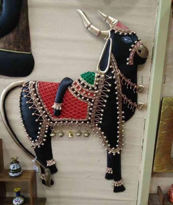 aft Indian Culture Animal Sculpture Wall Hangings Home Decor Attractive Article