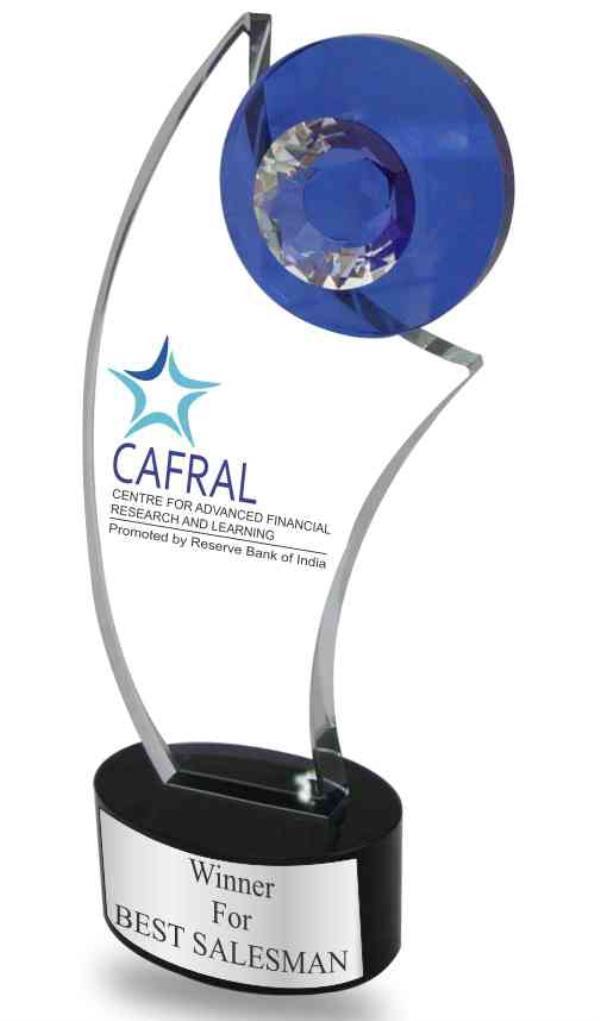 Crystal trophies Elegant