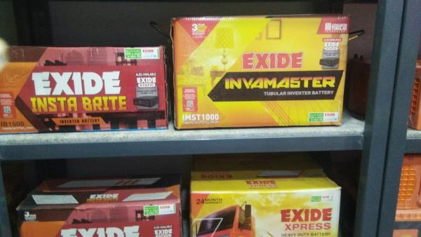 Exide battery dealer