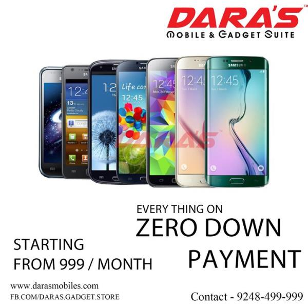 #Samsung_Mobiles #EMI #Start from #999 &  #Zero_Down #payment Now Available at DARAS