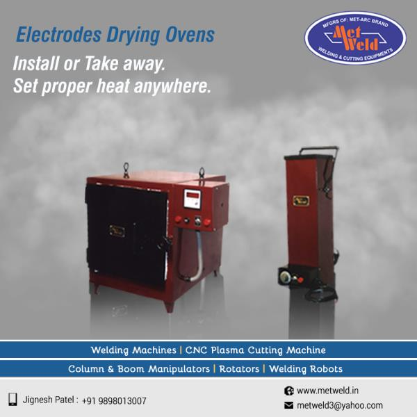 MET-ARC Electrodes Drying Ovens set proper temperature for every required need. Metweld manufactures certain machines to fulfill every advanced need in this tech era.   #Electrodes-Drying-Ovens  #Electrodes-Drying-Ovens-Manufacturers-in-Ahmedabad  #Electrodes-Drying-Ovens-Exporters-in-Gujarat  #Electrodes-Drying-Ovens-Suppliers-in-India
