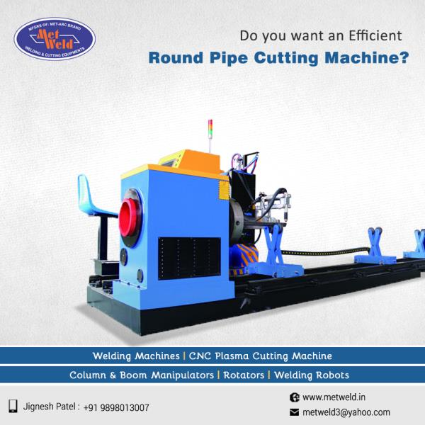 For the best Round Pipe Cutting Machine, there is only one name METWELD. Metweld provides the highly efficient yet cost saving Round Pipe Cutting Machine.   #Round-Pipe-Cutting-Machine  #Round-Pipe-Cutting-Machine-Manufacturers-in-Ahmedabad  #Round-Pipe-Cutting-Machine-Exporters-in-Ahmedabad  #Round-Pipe-Cutting-Machine-Suppliers-in-Ahmedabad
