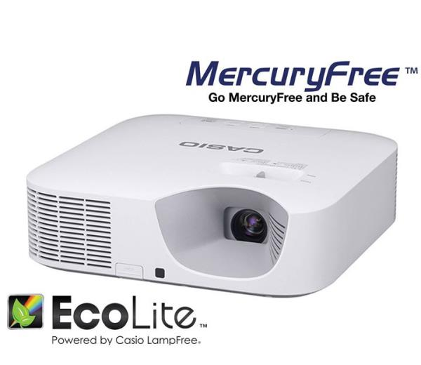 Projector: Mercury Free, No filter, No Lamp Replacement, Low Power                     Consumption.  3000 Lumens, XGA, 20000 Hrs Lamp Life, 140 Watts Power Consumption  With Total Cost of Ownership substantially reduced by their long-life light source, low energy consumption and filter-free design, CASIO Lamp Free projectors afford a wide range of value for use in everything from business to education.. For more info visit us at http://yantras.co.in/Projector-Mercury-Free-No-filter-No-Lamp-Replacement-Low-Power-Consumption-3000-Lumens-XGA-20000-Hrs-Lamp-Life-140-Watts/b75