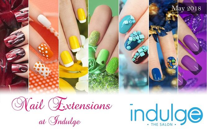 Try the Nail Extensions and Nail Art at Indulge The Salon, Bhubaneswar and Cuttack.
