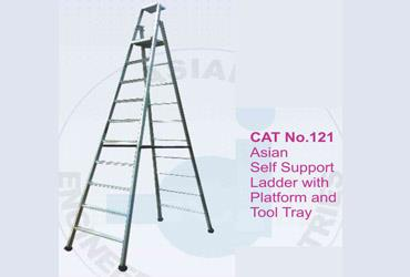 self support with tool tray