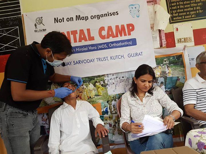 Our Dr. Naman vora Conducted dental check up and awareness camp at small village chaminoo, district Chamba in Himachal Pradesh