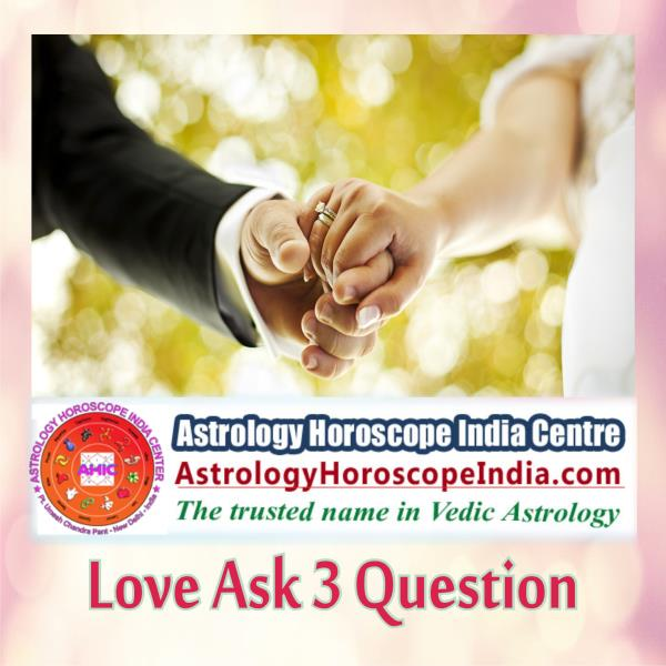 Astrologer in Delhi India:  If the love of your life is fraught with many problems and you have certain questions in this regard, share them with us. We assure you of having the most relevant and correct solution to your problems. http://astrologyhoroscopeindia.com/love-ask-3-questions-detailed-guidance/p83  #LoveAstrology