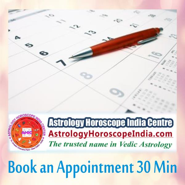 Delhi:Book an appointment with your astrologer and best help will be provided within the specified period of 30 minutes. The consultation involves the meticulous study of your birth chart and many other essentials to finally pick the best solution pertaining to your needs. Book your appointment now: http://astrologyhoroscopeindia.com/book-an-appointment-30-min/p99#AstrologyConsultation