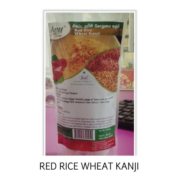RED RICE WHEAT KANJI