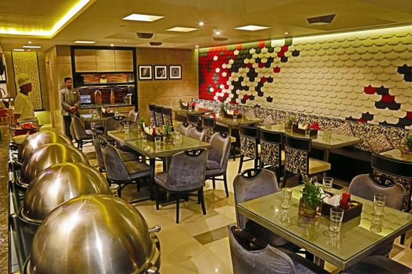 With accommodation you can find restaurant with all you can eat buffet special dishes.