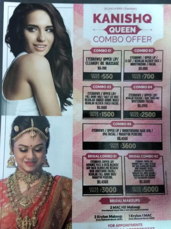 Unisex Salon Offers  The leading unisex salon offers fantastic combo offers. Come and experience great beauty at throw away prices.   We welcome all princess and queens of Dharmapuri. Come pamper yourself. . For more info visit us at http://kanishqunisexsalonspa.com/Unisex-Salon-Offers-The-leading-unisex-salon-offers-fantastic-combo-offers-Come-and-experience-great-beauty-at-throw-awa/b73