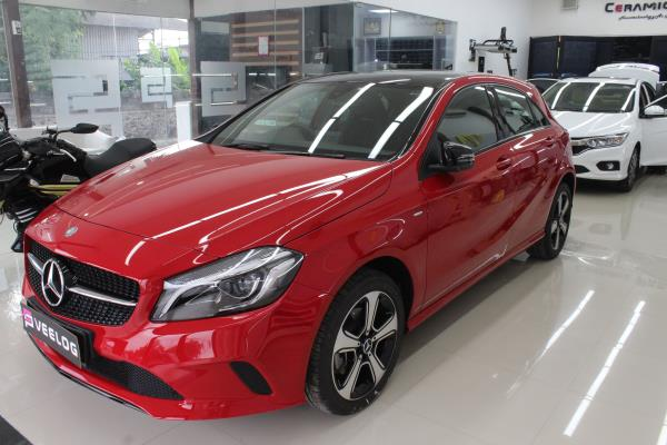 Mercedes-Benz A200 is protected by The world's leading Nanoceramic coating.  For More Info:  Call us:9500877273 9790901962  9003111248.,  Mail us: chennai@ceramicpro.co.in  Ceramic Pro 9H is ain't typical sealant/wax  available in the market. It's based on Ceramic  Nanotechnology with advanced Ko R& D. Thus,  not all the coating system are created equal and  to be benchmark with Ceramic ProGO  Ceramic Pro offers:  oSuper Hydrophobic Effect  oWeather & UV Resistance  Thermal Resistance (up to 1200°C)  oScratch Resistance (Above 9H)  Antj-Graffiti  Advanced Chemical Resjstance  Oxidation & Corrosion Resistant  High Gloss Finish  Self-cleaning Effect  Chemical Resistance  Prevents Water Spotting  #best #luxurycars #Original #9H #Permanent  #protection #cars #sgs #glasscoatings  #veelog #ecr #tamilnadu #India #carporn  #sgscertified #ceramicproindia #chennai  #worldno1#superhydrophobic tceramiccoatin