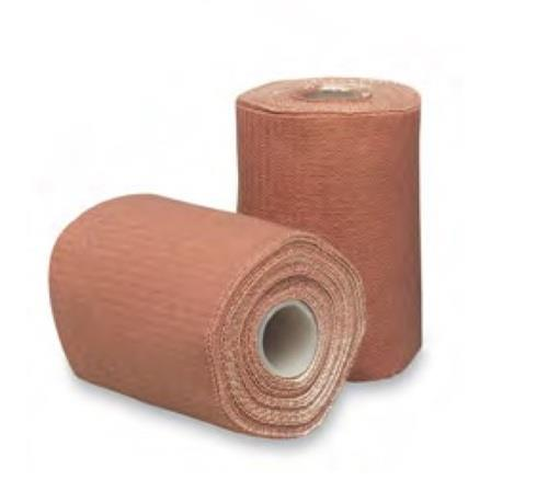 Elastic Adhesive BandageOur superior range of medical bandage, gauze bandages AS Elastic Adhesive Bandages is known for its good aesthetic appeal, woven fast edges and thick fabric. These Elastic Adhesive Bandage find application in areas where a bandage is required for support, immobilization and pressure. Our range of Elastic Adhesive Bandages is made of high grade CE marked plastic and has an adhesive covered with special plastic liner for easy unrolling, easy application, long protection & long storage life. Further, these products contain 20% zinc oxide which acts as a mild antiseptic, anti-inflammatory as well as astringent. We offer highly flexible elastic bandage, Elastic Adhesive Bandage designed to provide compression for muscles or joint injury. The use of strapping increase adhesion and support during injury recovery. Made of cotton and rayon with zinc oxide adhesive, these elastic bandage, elastic adhesive bandages are easy to wrap and comfortable to wear. Our range of Elastic Adhesive Bandage can be availed in different sizes and width at the most affordable prices. Specifications of Elastic Adhesive Bandage: Better ElasticityBetter aesthetic touch due to interwoven fabricBetter complianceClips for perfect compressionReusable - WashableSizes of Elastic Adhesive Bandage:6.0 cm X 4 mtr. (St. Length)8.0 cm X 4 mtr. (St. Length)10.0 cm X 4 mtr. (St. Length)15.0 cm X 4 mtr. (St. Length)