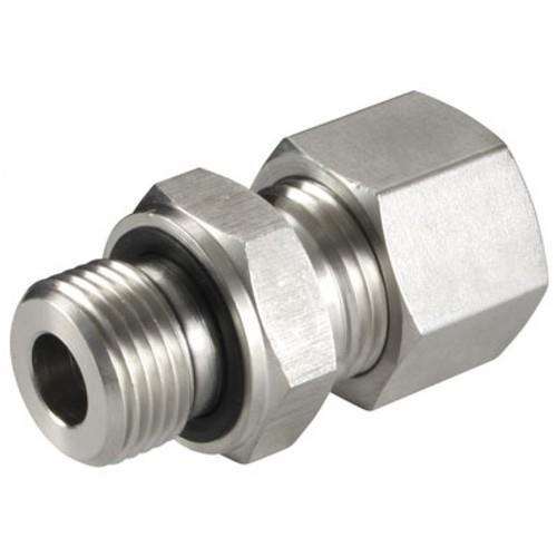 Description          :  Straight Male Stud Coupling C/W 1 x Nut & 1 x Ferrule Coupling Type    :  ISO 8434-1 / DIN 2353 24° Compression Fittings Body                      : Carbon Steel Nut                        : Cold Forged Steel 15C8/SA105 Ferrule                :  Hardened Steel EN-1A Plating                : Zinc Plating with Trivalent Blue Passivation (White) Series                :  L-Light Series / S-Heavy Series Pressure        :   Light – 100 to 250 bar / Heavy – 250 to 630 bar Tube OD        :  Light – 6MM OD to 42MM OD / Heavy – 6MM OD to 38MM OD End                :  1/8″ to 1.1/2″ BSP Seal                        :  ED seal