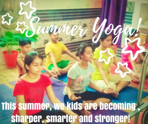 Summer Yoga Classes for Kids. Yoga for health, success and happiness at Kanchankaya. Best Summer Yoga classes in Lucknow. Connect with us today! Yoga in Lucknow.