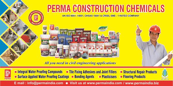 Perma India is the leading Manufacturer of Construction Chemicals . We manufacturer & Export entire range of construction chemicals under compliance of ISO 9001, 14001 & OHSAS 18001 certified . Perma Construction Chemicals for Waterproofing is highly demanded in India. If you required Construction Chemical all across the globe then please reach us at info@permaindia.com For more information please visit us : http://permaindia.com/ or http://permaindia.biz/