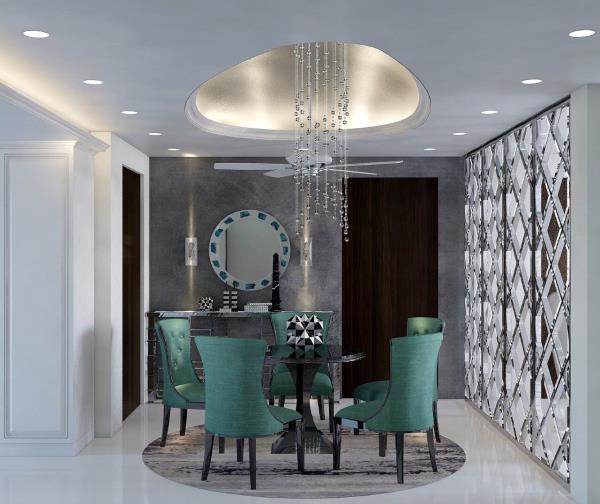 Dining Area design curate